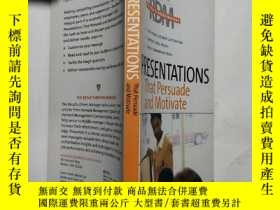 二手書博民逛書店Presentations罕見That Persuade and