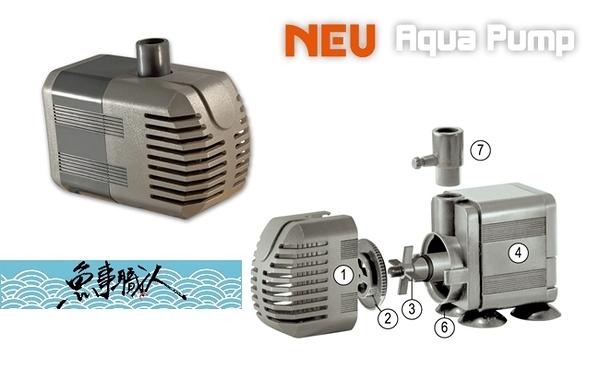 台灣 RIO NEU 沉水馬達【A600】【600L/H】台製 靜音強力 陶瓷軸心 淡水海水適用