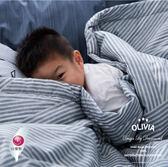5尺X6尺 100%精梳純棉夏日涼被【 DR810 波賽頓 灰 】 台灣MIT 都會簡約系列 OLIVIA