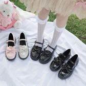 日系洛麗塔lolita厚底女鞋可愛蘿莉淺口圓頭娃娃鞋原宿軟妹小皮鞋 米娜小鋪