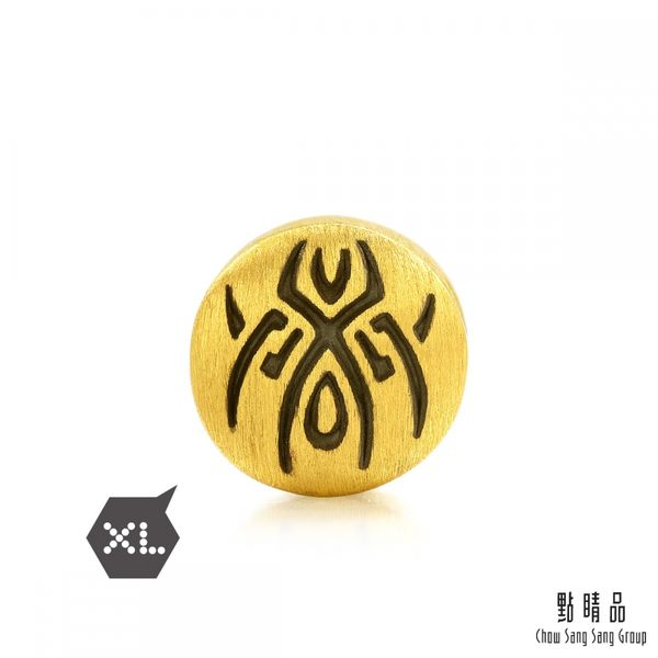 點睛品 Charme XL Tattoo系列 幸運喜蛛 黃金串珠