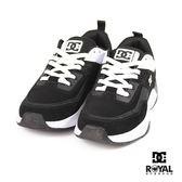 DC 新竹皇家 E.TRIBEKA 黑色 麂皮 皮質 拼接 休閒運動鞋 男款 NO.B0287