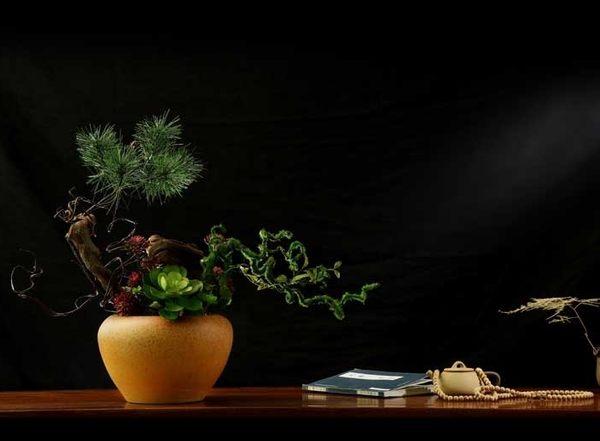 模擬花套裝花藝 客廳玄關假花幹花裝飾品商業插花- 12950057