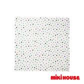 MIKI HOUSE BABY 日本製 小熊星星多用途雙層紗布巾(綠)