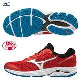 MIZUNO WAVE RIDER 22 男鞋 慢跑 路跑 健走 耐磨 防滑 緩震 寬楦 紅【運動世界】 J1GC183208