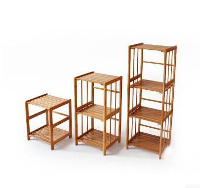 楠竹花架實木置物陽台客廳吊蘭綠蘿多肉盆花架子簡約落地多層特價