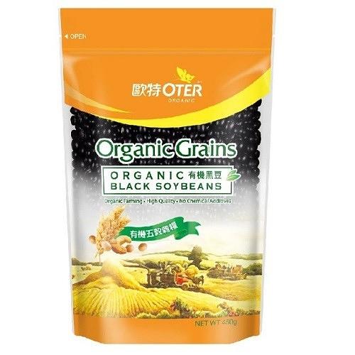(3包特惠) 歐特 有機黑豆 450g/包