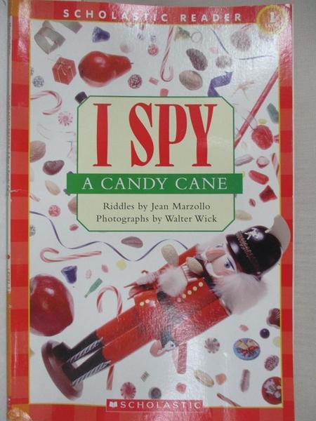 【書寶二手書T1/少年童書_KSC】I Spy a Candy Cane_Marzollo, Jean/ Wick, Walter (ILT)