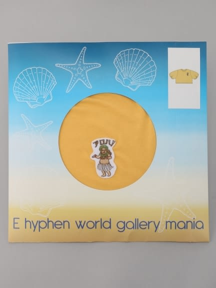 ❖ Hot item ❖ 《MANIA》刺繡草裙舞女孩寬袖上衣 - E hyphen world gallery