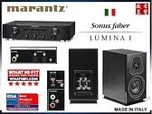 『門市有現貨』 Marantz PM6006 數位綜合擴大機 + 義大利製 Sonus Faber Lumina I 書架喇叭