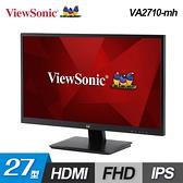 ~ViewSonic 優派~VA2710 mh 27 型IPS 面板FHD 螢幕