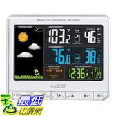 [8美國直購] 溫度警報器 La Crosse Technology 308-1412S Color LCD Wireless Weather Station