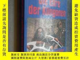 二手書博民逛書店Star罕見Trek, Die Ehre der Klingonen 德文原版 插圖版Y12480 Marc