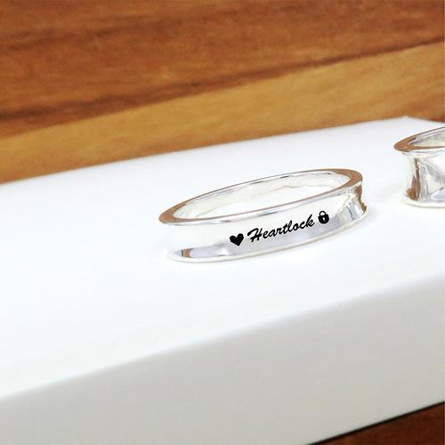 極簡內弧凹面戒 女款-訂製戒指 刻字 純銀戒指(單只)