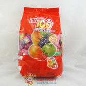 馬來西亞糖果一百份綜合口味軟糖1000g【0216零食團購】9556296203645