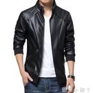 男士皮衣2020新款韓版潮流修身型帥氣機車服男裝青年外套皮夾克男 蘿莉小腳丫