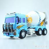 玩具車車   大號玩具工程車模型慣性汽車機拌車迷你男孩生日禮物 KB10507【歐爸生活館】