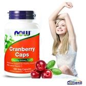 NOW 健而婷 蔓越莓植物膠囊食品(100顆/瓶)