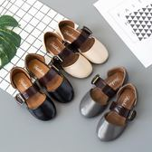 公主鞋單鞋透氣童鞋豆豆鞋