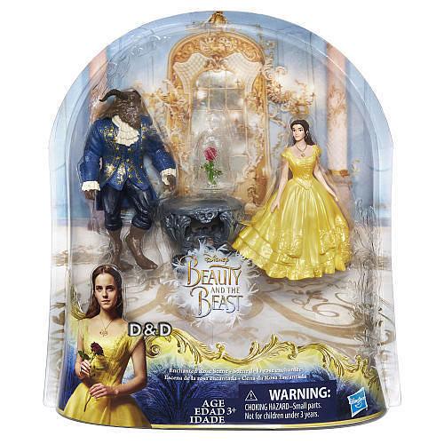 《 Disney 迪士尼 》美女與野獸電影版電影場景組╭★ JOYBUS玩具百貨