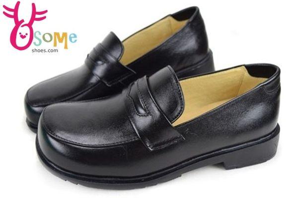 學生鞋 XSX氣墊 牛皮 女款 國高中生皮鞋 C4206◆OSOME奧森童鞋/小朋友