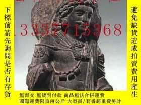 二手書博民逛書店【罕見】The Art of Gandhara in The M