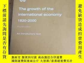 二手書博民逛書店Growth罕見of the International Eco