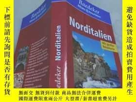 二手書博民逛書店罕見Norditalien《北意大利,德文原版》Y12880 Baedeker Verlag Karl Bae