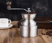 不銹鋼磨豆機 咖啡豆磨 手搖黑胡椒研磨器 手磨胡椒粒 可水洗手動第七公社