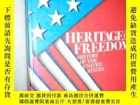 二手書博民逛書店Heritage罕見of freedom: History of