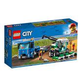 LEGO樂高 城市系列 60223 收割機運輸車 積木 玩具