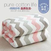 夏季純棉三層六層紗布毛巾被子單雙人嬰兒童加厚毛毯空調毯蓋毯薄 LX 潮人女鞋