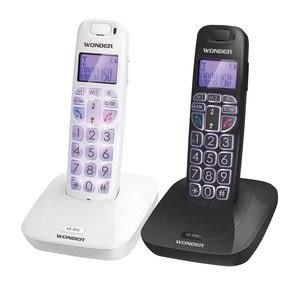 【中彰投電器】旺德DECT數位2.4G單支無線電話(黑色),WT-D05【全館刷卡分期+免運費】