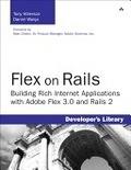 二手書博民逛書店《Flex on Rails: Building Rich In