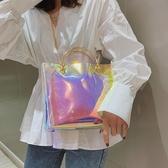 果凍包 大容量包包女仙女包2020流行新款潮韓版透明鏈條斜挎包單肩手提包 零度3C