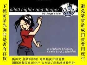 二手書博民逛書店Piled罕見Higher And DeeperY364682 Jorge Cham Piled Higher