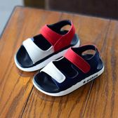 小童涼鞋男1一3歲 嬰幼兒童夏軟2018新款寶寶涼鞋男孩夏季沙灘鞋5【潮咖地帶】