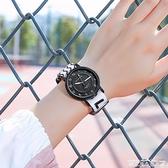 手錶「拾憶」運動帆布字母男女學生韓版手錶女文藝森系簡約潮流情侶錶 衣間迷你屋