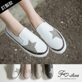 (需過年後寄送)休閒鞋-.鉚釘星星厚底懶人鞋-FM時尚美鞋-訂製款. Focus
