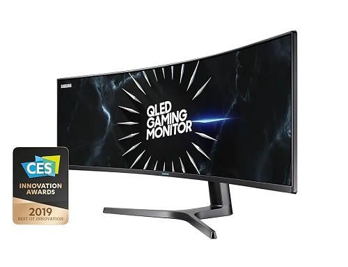 Samsung 三星 C49RG90SSC 48.8吋 Dual QHD 曲面 120Hz 超寬 電競 顯示器 螢幕