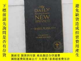 二手書博民逛書店MY罕見DAILY READING FROM THE TESTAMENT(1941年版)Y18210 出