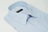 【金‧安德森】藍白條紋吸排短袖襯衫