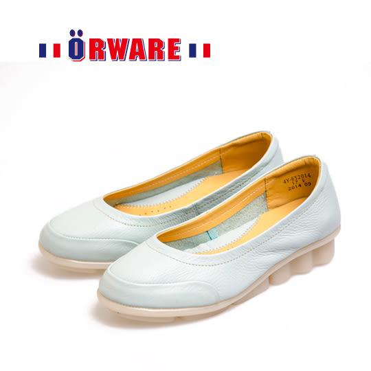 ORWARE-「可水洗」MIT超柔軟休閒鞋 652014-17(淺藍)