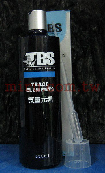 【西高地水族坊】翠湖TBS水草微量元素(500ml)