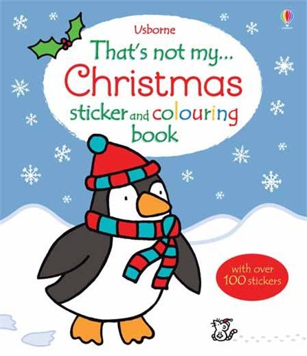 That's Not My...Sticker And Colouring Book:Christmas 那不是我的系列貼紙著色書-耶誕節篇