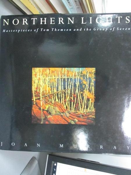 【書寶二手書T5/建築_EVU】Northern lights_Joan Murray