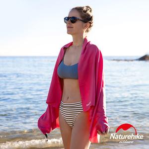 Naturehike 迷你便攜細纖維戶外吸水速乾浴巾 玫紅