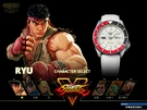 【時間道】SEIKO精工 5SPORTS新世代5號機械腕錶-快打旋風聯名款/隆RYU(4R36-08P0W/SRPF19K1)免運費