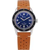 SQUALE 鯊魚錶 60週年限量潛水機械錶-藍面/39mm SUB-39BL