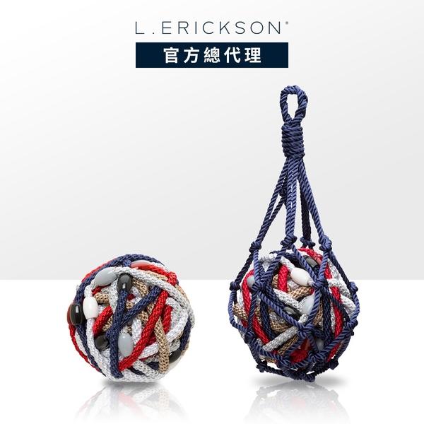 L. ERICKSON 細版彈力髮圈-30入〈海軍風情〉